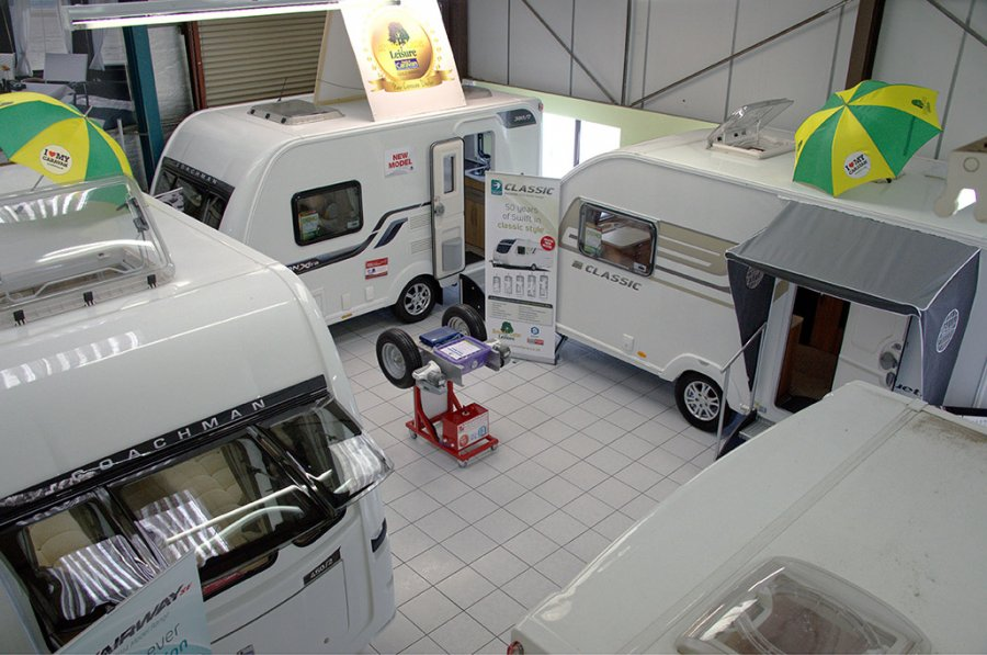 Broad Lane Caravans